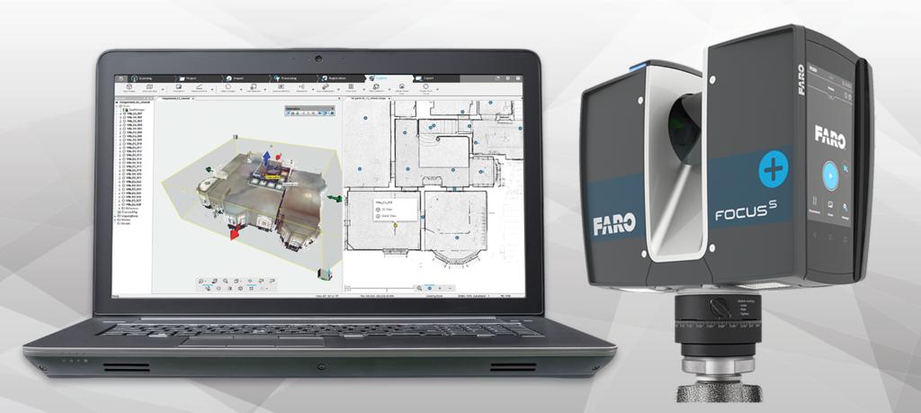 Faro Focus S Plus - Enregistrement sur site OSR