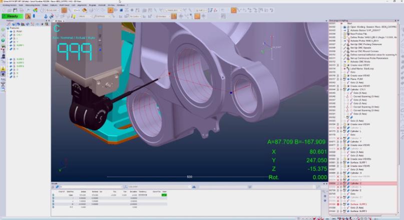 Metrologic Group - L'inspection 3D se modernise chez Safran avec Metrolog X4
